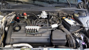 Autogasanlage in einem Lancia