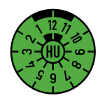 HU-Plakette